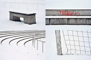 Stiller Schnee, Foto Heike Heuser, Marburg